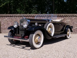 1931 Cadillac V8 Roadster Model 355A by Fleetwood