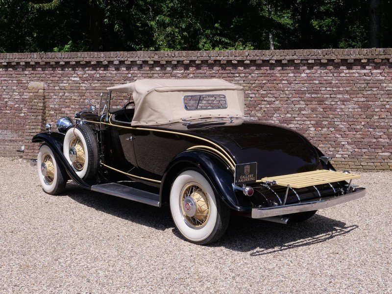 1931 Cadillac V8 Roadster Model 355A by Fleetwood For Sale (picture 2 of 6)
