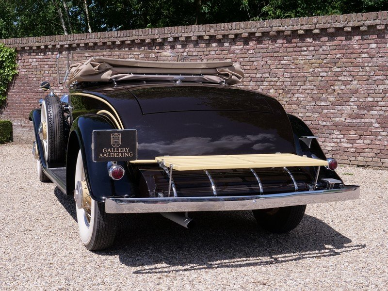 1931 Cadillac V8 Roadster Model 355A by Fleetwood For Sale (picture 6 of 6)