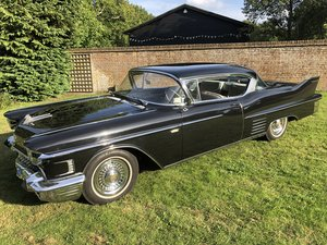 1958 CADILLAC SERIES SIXTY TWO HARDTOP PILLARLESS COUPE