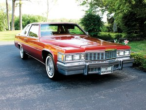 1977 Cadillac Coupe Deville  For Sale by Auction