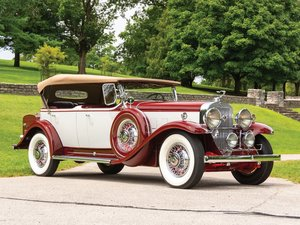 1931 Cadillac V-12 Phaeton by Fleetwood For Sale by Auction