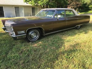 1968 Cadillac Fleetwood Brougham  For Sale by Auction