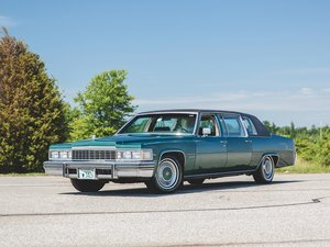 1977 Cadillac Fleetwood 75 Formal Sedan  For Sale by Auction