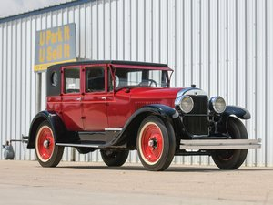 1925 Cadillac Model V63 Five-Passenger Sedan  For Sale by Auction