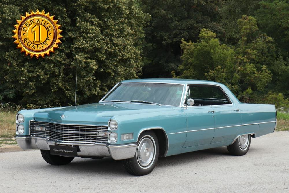 Cadillac Deville 4-door Hardtop 1966 For Sale (picture 1 of 6)