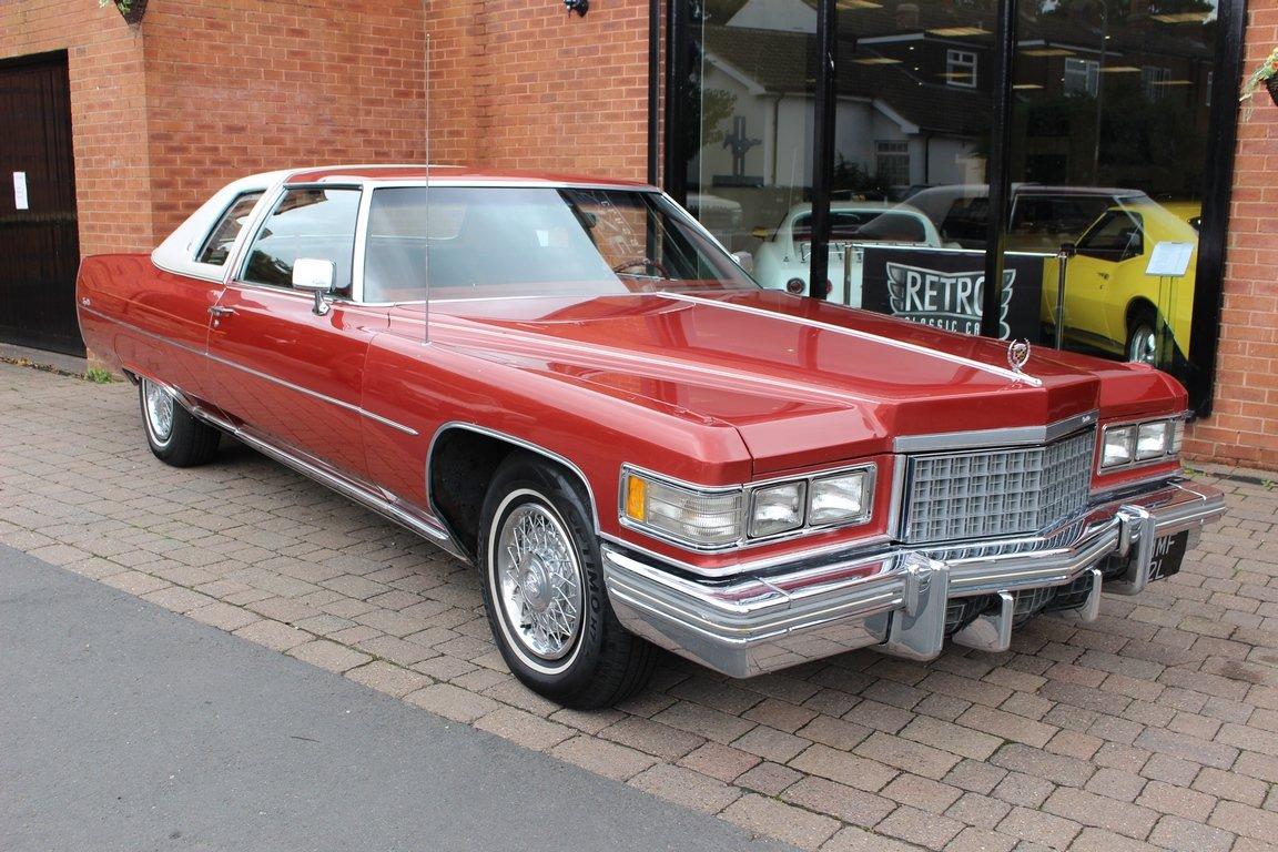 1976 Cadilac Coupe DeVille | 18,000 Miles From New For Sale (picture 1 of 6)