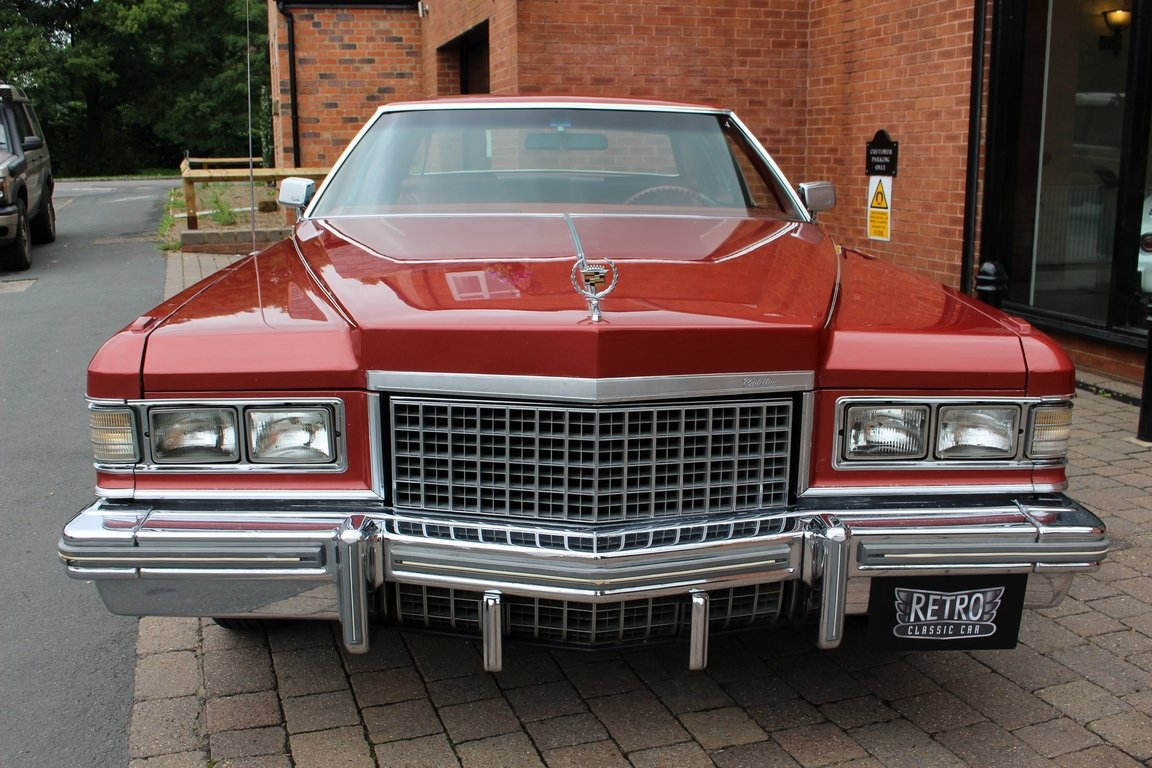 1976 Cadilac Coupe DeVille | 18,000 Miles From New For Sale (picture 3 of 6)