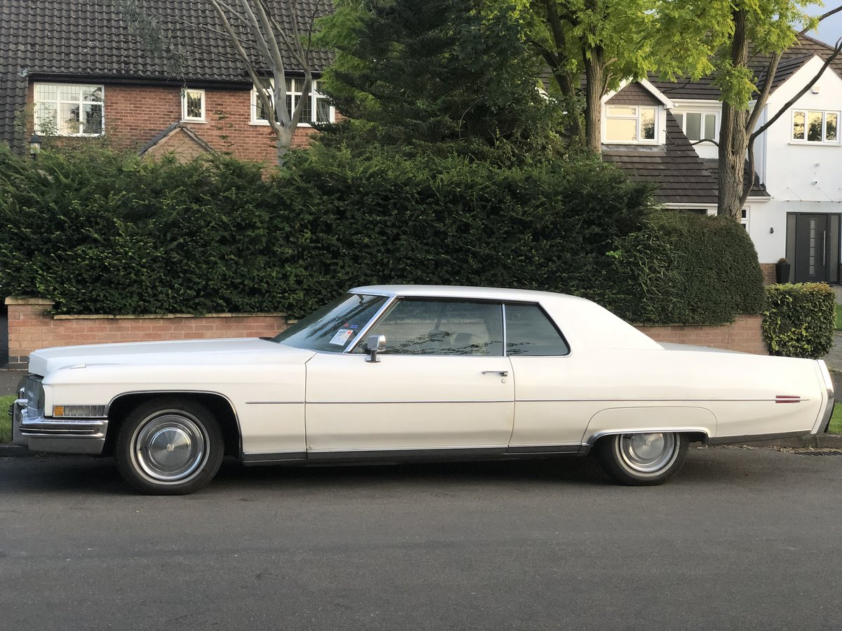 1973 Cadillac Coupe Deville v8 For Sale (picture 4 of 5)
