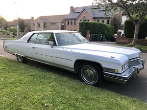 1973 Cadillac Coupe Deville v8 For Sale