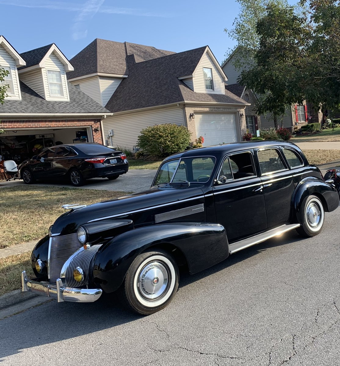 1939 Cadillac 61 Runs Perfectly Original For Sale