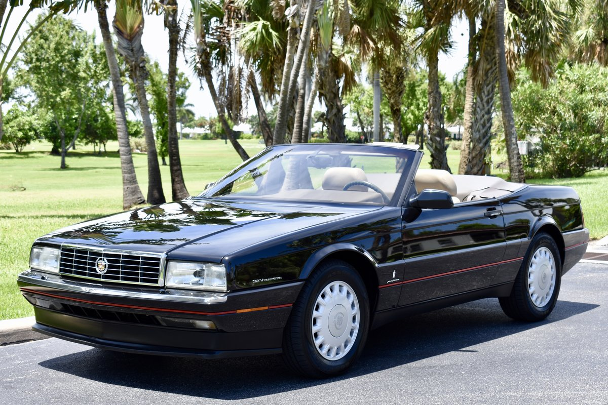 1993 CADILLAC ALLANTE' LOW MILES, FULLY SERVICED For Sale (picture 1 of 6)