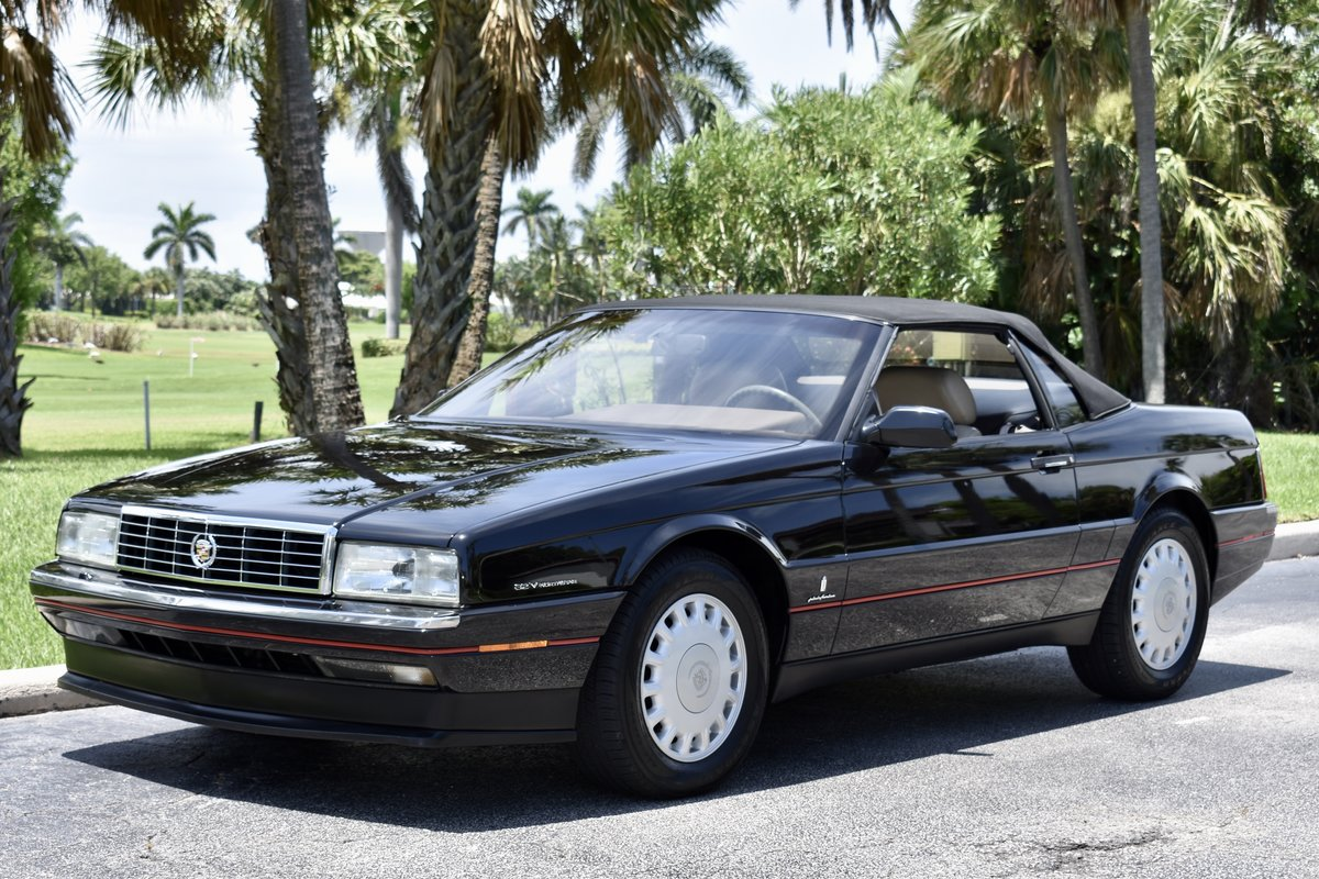 1993 CADILLAC ALLANTE' LOW MILES, FULLY SERVICED For Sale (picture 2 of 6)