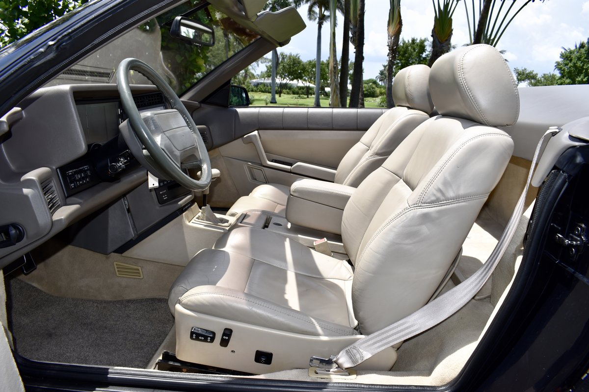 1993 CADILLAC ALLANTE' LOW MILES, FULLY SERVICED For Sale (picture 3 of 6)