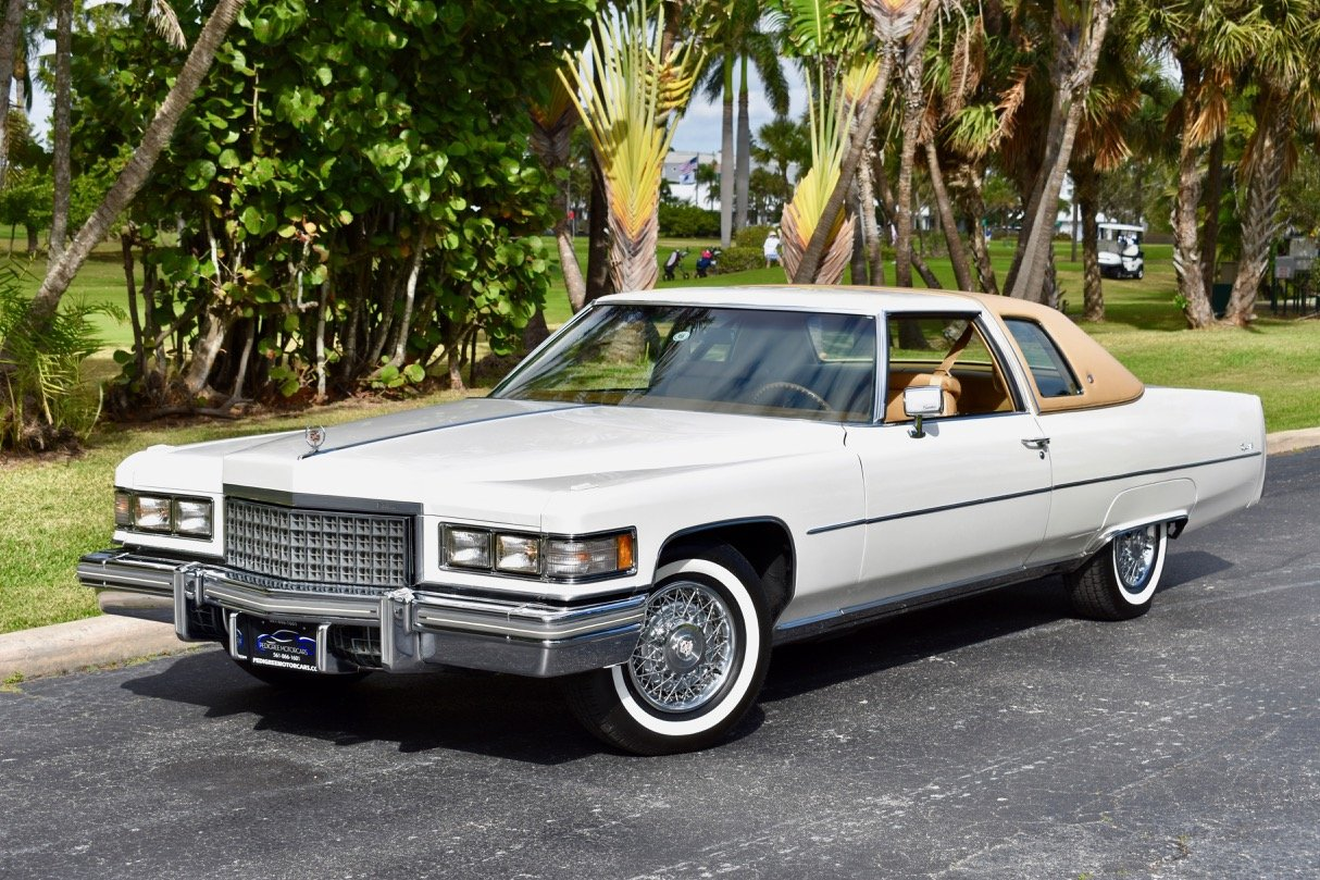 1976 Cadiillac Coupe Deville, 37000 miles All original  For Sale (picture 1 of 6)