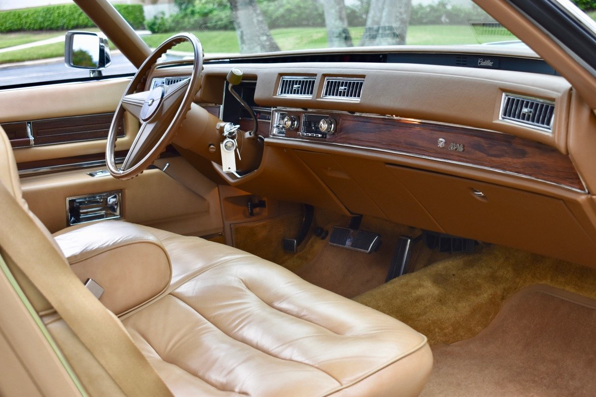 1976 Cadiillac Coupe Deville, 37000 miles All original  For Sale (picture 5 of 6)