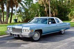 1976 76 Cadillac Coupe Deville 20,000 miles, fully serviced