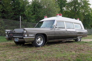 1967 Cadillac Miller Meteor Ambulance For Sale by Auction