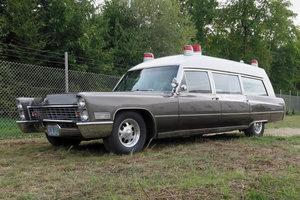 1967 Cadillac Miller Meteor Ambulance
