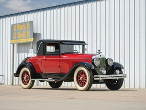 1926 Cadillac Series 314 Two-Passenger Sport Coupe  For Sale by Auction