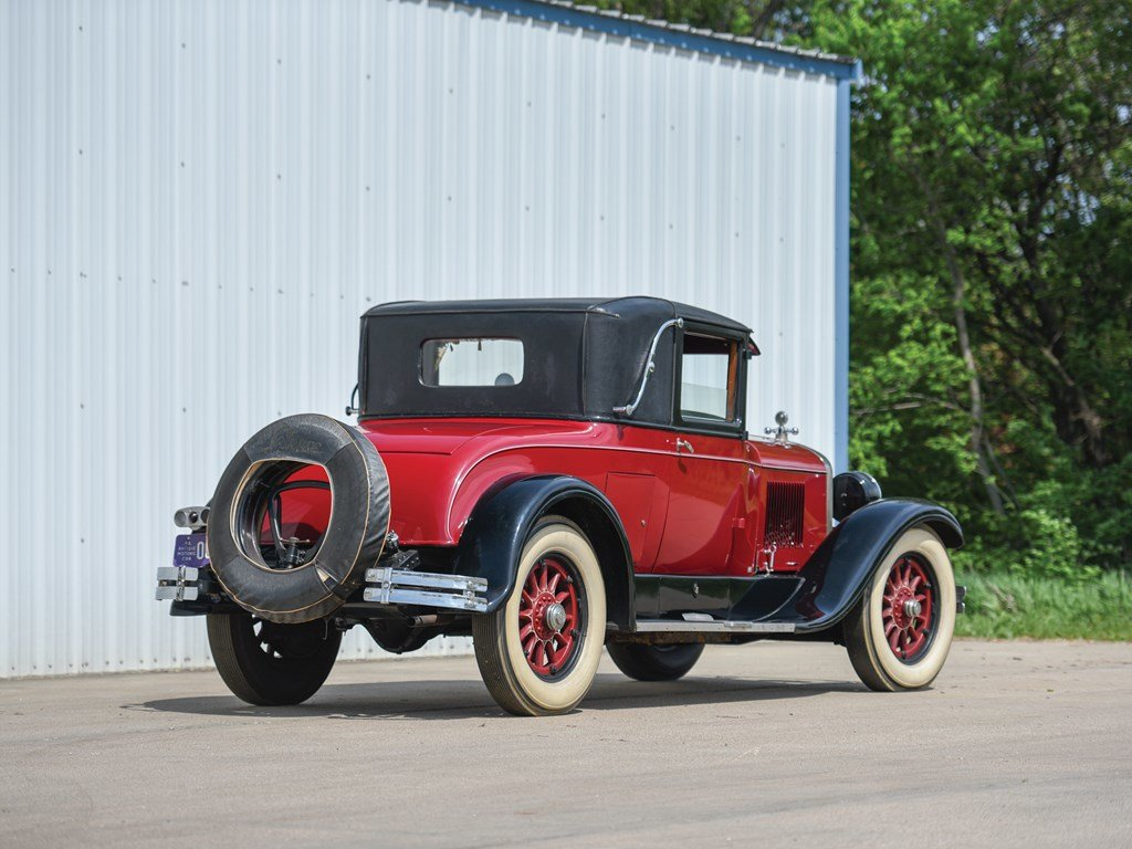 1926 Cadillac Series 314 Two-Passenger Sport Coupe  For Sale by Auction (picture 2 of 6)