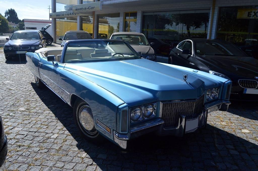 1971 Cadillac Eldorado Convertible 8.2 - Belgian Plates For Sale (picture 1 of 6)