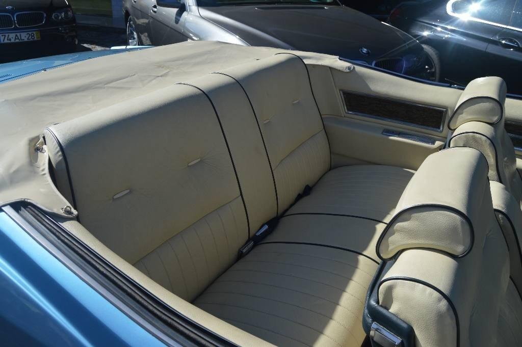 1971 Cadillac Eldorado Convertible 8.2 - Belgian Plates For Sale (picture 5 of 6)