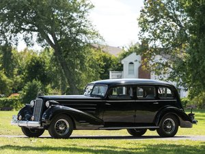1937 Cadillac V-16 Seven-Passenger Limousine by Fleetwood For Sale by Auction