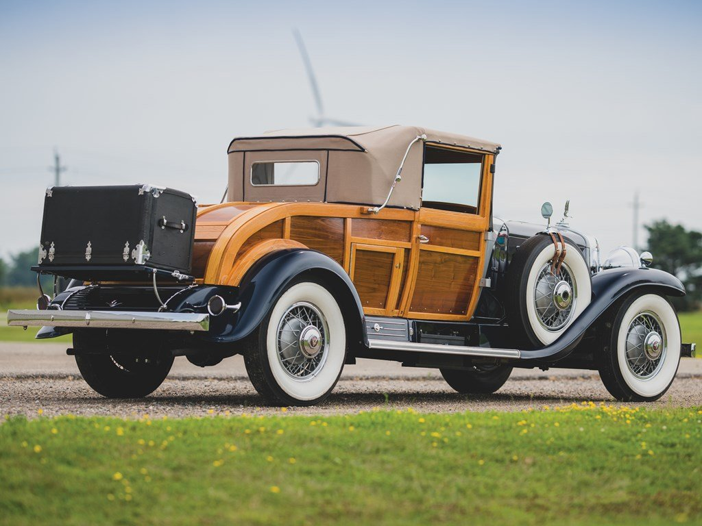 1931 Cadillac V-16 Woodie Convertible Coupe  For Sale by Auction (picture 2 of 6)