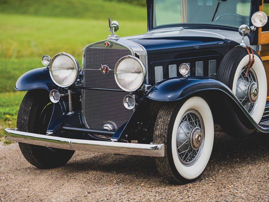 1931 Cadillac V-16 Woodie Convertible Coupe  For Sale by Auction (picture 5 of 6)
