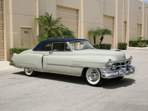 1950 Cadillac Series 62 Convertible Coupe  For Sale by Auction