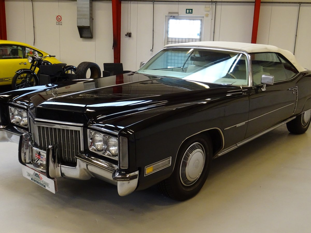 1972 Cadillac Eldorado Cabriolet For Sale (picture 1 of 6)