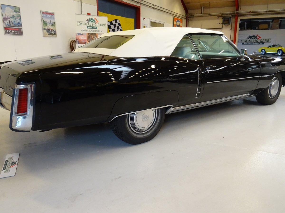 1972 Cadillac Eldorado Cabriolet For Sale (picture 2 of 6)