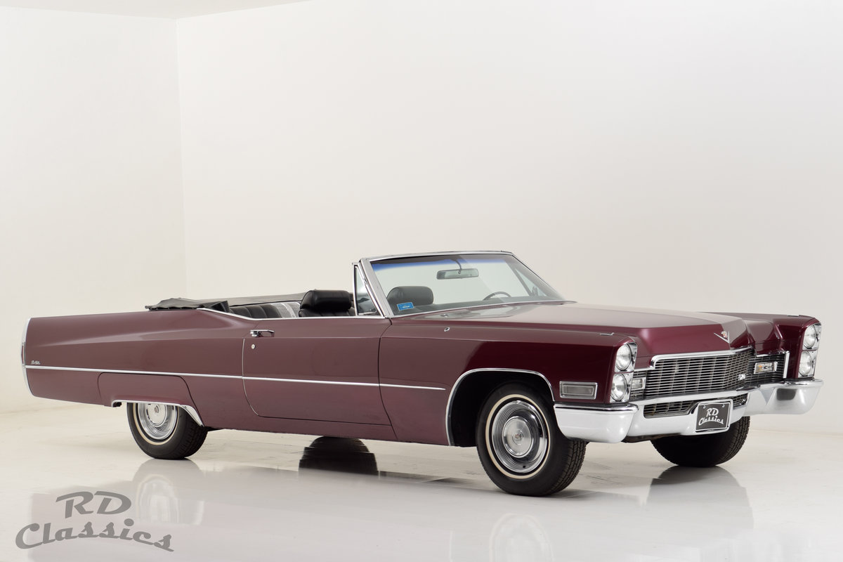 1968 Cadillac Deville Convertible For Sale (picture 1 of 6)