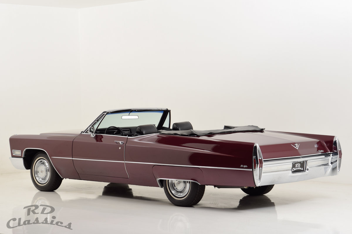 1968 Cadillac Deville Convertible For Sale (picture 3 of 6)