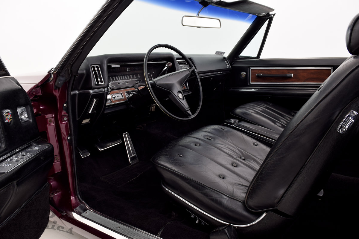 1968 Cadillac Deville Convertible For Sale (picture 5 of 6)