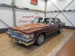 1978 Cadillac Sedan De Ville Full Options / Third Owner