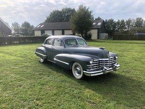 1947 Cadillac Serie 62 4drs Sedan V8 Aut SOLD