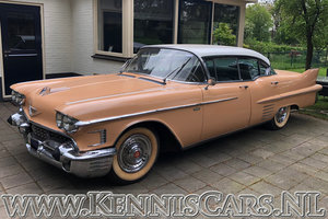 Cadillac Sedan De Ville 1958 For Sale