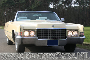 Cadillac 1970 De Ville Convertible 8 Cylinder Automatic For Sale