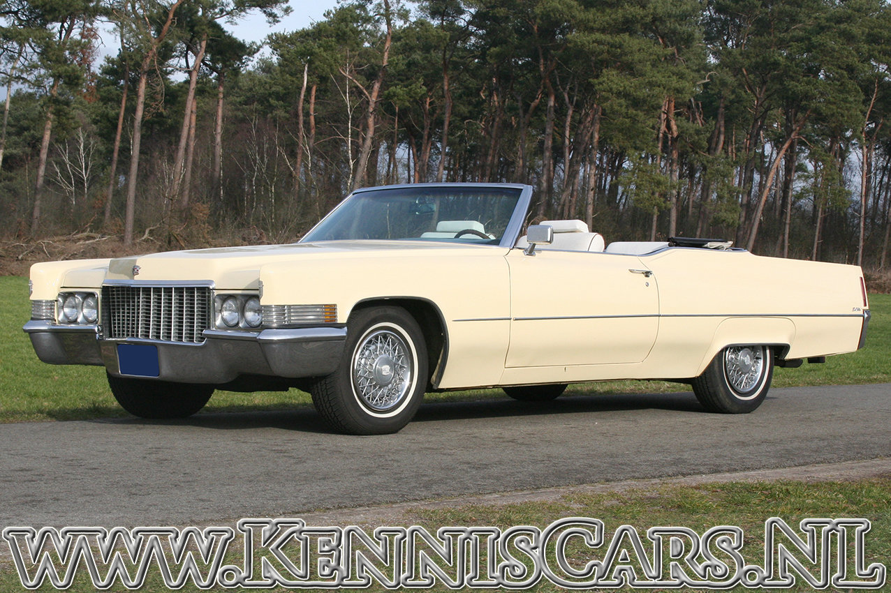 Cadillac 1970 De Ville Convertible 8 Cylinder Automatic For Sale (picture 2 of 6)