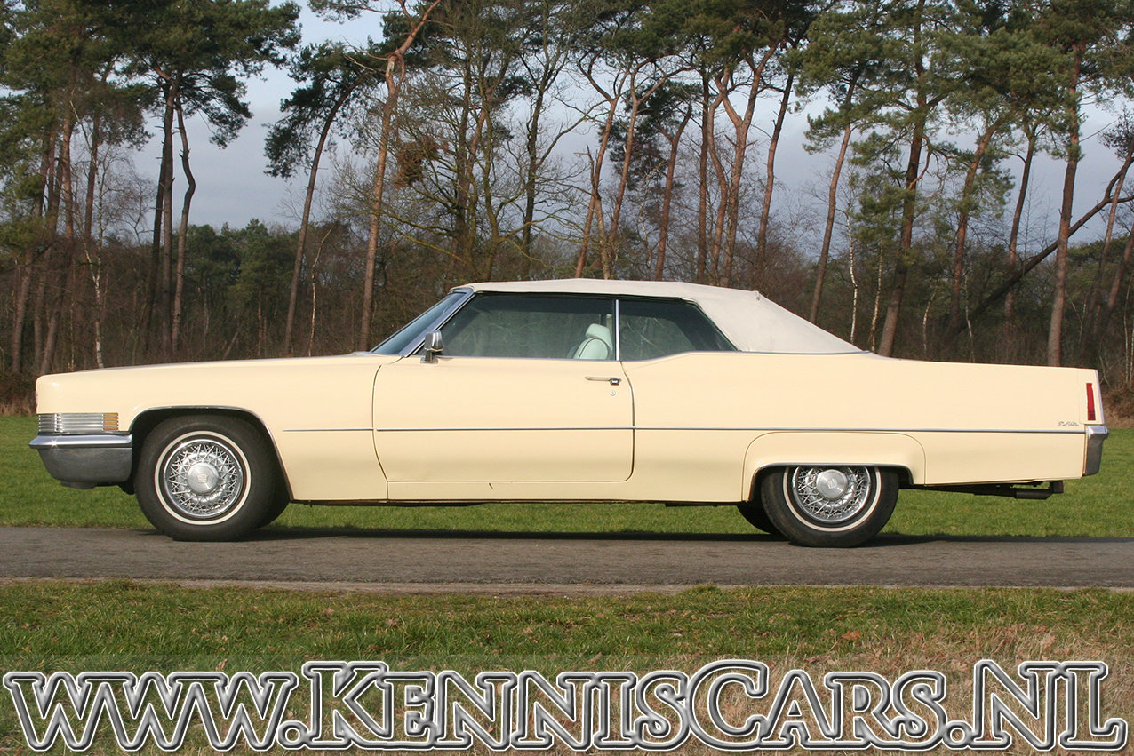 Cadillac 1970 De Ville Convertible 8 Cylinder Automatic For Sale (picture 5 of 6)