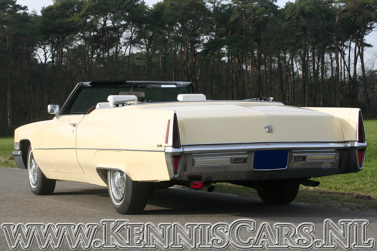 Cadillac 1970 De Ville Convertible 8 Cylinder Automatic For Sale (picture 6 of 6)