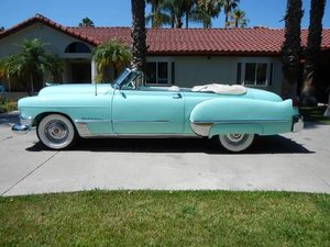 1949 Cadillac Convertible For Sale