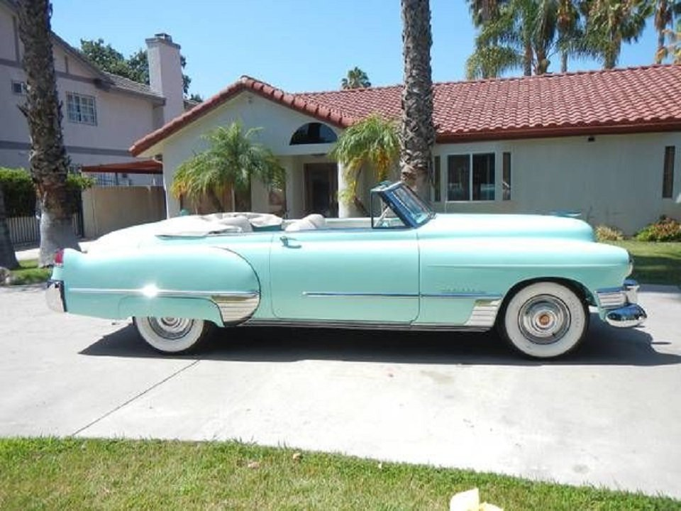 1949 Cadillac Convertible For Sale (picture 2 of 6)