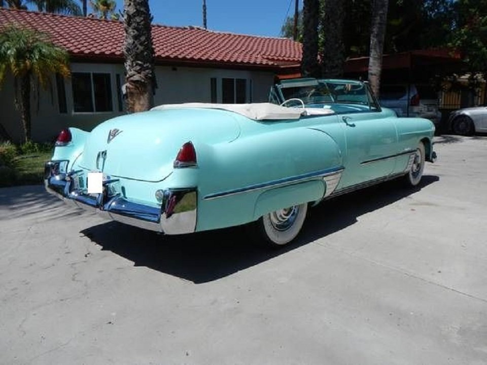 1949 Cadillac Convertible For Sale (picture 4 of 6)