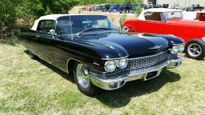 1960 Cadillac 62 Convertible For Sale