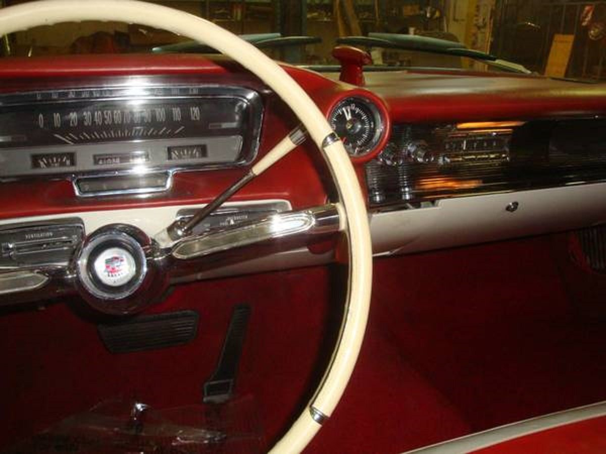 1960 Cadillac 62 Convertible .. Black For Sale (picture 5 of 6)