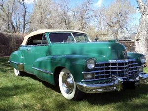 1947 Cadillac 62 Convertible For Sale