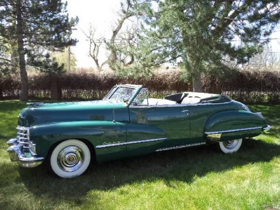 1947 Cadillac 62 Convertible For Sale (picture 2 of 6)